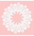 Mandala Hand drawn ethnic decorative element vector image