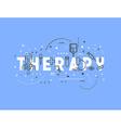 Medicine concept design Therapy vector image