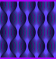 neon grid seamless pattern in old 80s arcade game vector image vector image