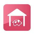 Pigsty icon Farm vector image vector image