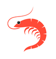 Prawn vector image vector image