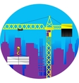 Construction building a house vector image