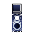 A speaker is placed vector image vector image