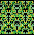 abstract baroque seamless pattern vector image vector image