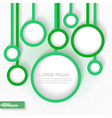 Abstract business minimalistic template vector image vector image