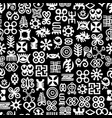 african adinkra pattern vector image vector image