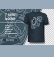 Anchor sailors symbol t-shirt template