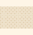 beige abstract seamless geometric pattern vector image vector image