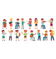 children orchestra play music child playing vector image