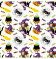 Halloween Seamless Pattern vector image vector image