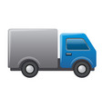 lorry car icon vector image