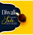 modern diwali sale banner design template vector image vector image