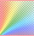 rainbow gradient background mesh vector image vector image