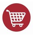 shoppyng cart market buying vector image