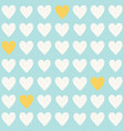 simple light blue seamless pattern with vector image vector image