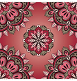 Simple red and grey pattern vector image