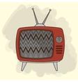 TV entertainment design vector image vector image