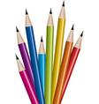 vector set of lead pencils vector image vector image