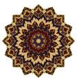 abstract mandala vector image