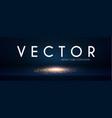 empty scene with shining light effect theasures vector image vector image