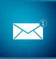 envelope icon isolated received message concept vector image