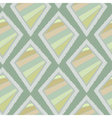 Geometric retro ikat tribal seamless pattern vector image vector image