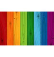 Multicolored Boards Background vector image