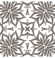 seamless pattern imitating floral lace vector image vector image
