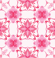 Seamless pattern in pink colors vector image