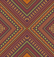 seamless tribal embroidery pattern vector image vector image