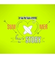 surfing summer lettering design Cool vector image vector image