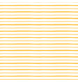 yellow pattern with handmade stripes vector image vector image