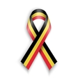 Abstract Belgian ribbon vector image vector image