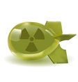 atomic bomb icon vector image