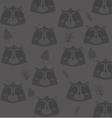 cute raccoon head pattern background image vector image vector image