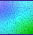 polygonal abstract background template colorful vector image vector image