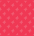 pulse red seamless pattern vector image vector image