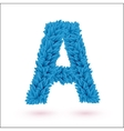 A letter vector image vector image
