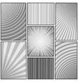 comic book monochrome template vector image vector image