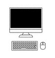 computer device icon image vector image vector image