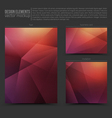 Design Elements Template vector image vector image
