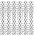 hexagon seamless pattern monochrome geometric vector image vector image