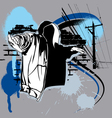 Hip hop vector image vector image
