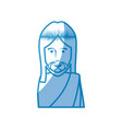 jesus christ icon vector image vector image