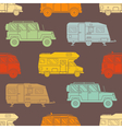 Rv Travel Pattern Background vector image
