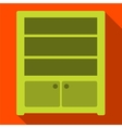 Sideboard flat icon vector image vector image