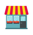 store icon flat style vector image