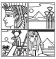 EGYPT vector image