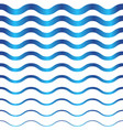 abstract seamless wave pattern vector image vector image