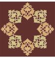 artistic ottoman pattern series eighteen vector image vector image